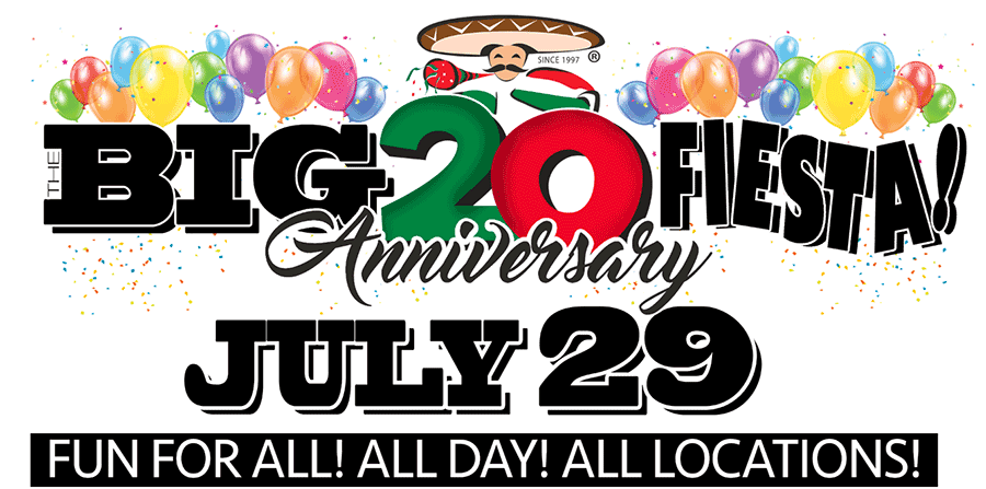 Big 20th Anniversary Fiesta